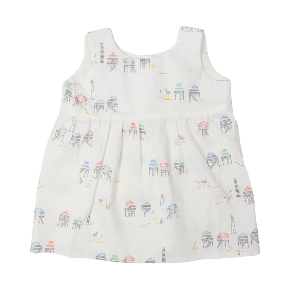 Two Little Beans and Co. Two Little Beans - Tank Dress - Beach Houses