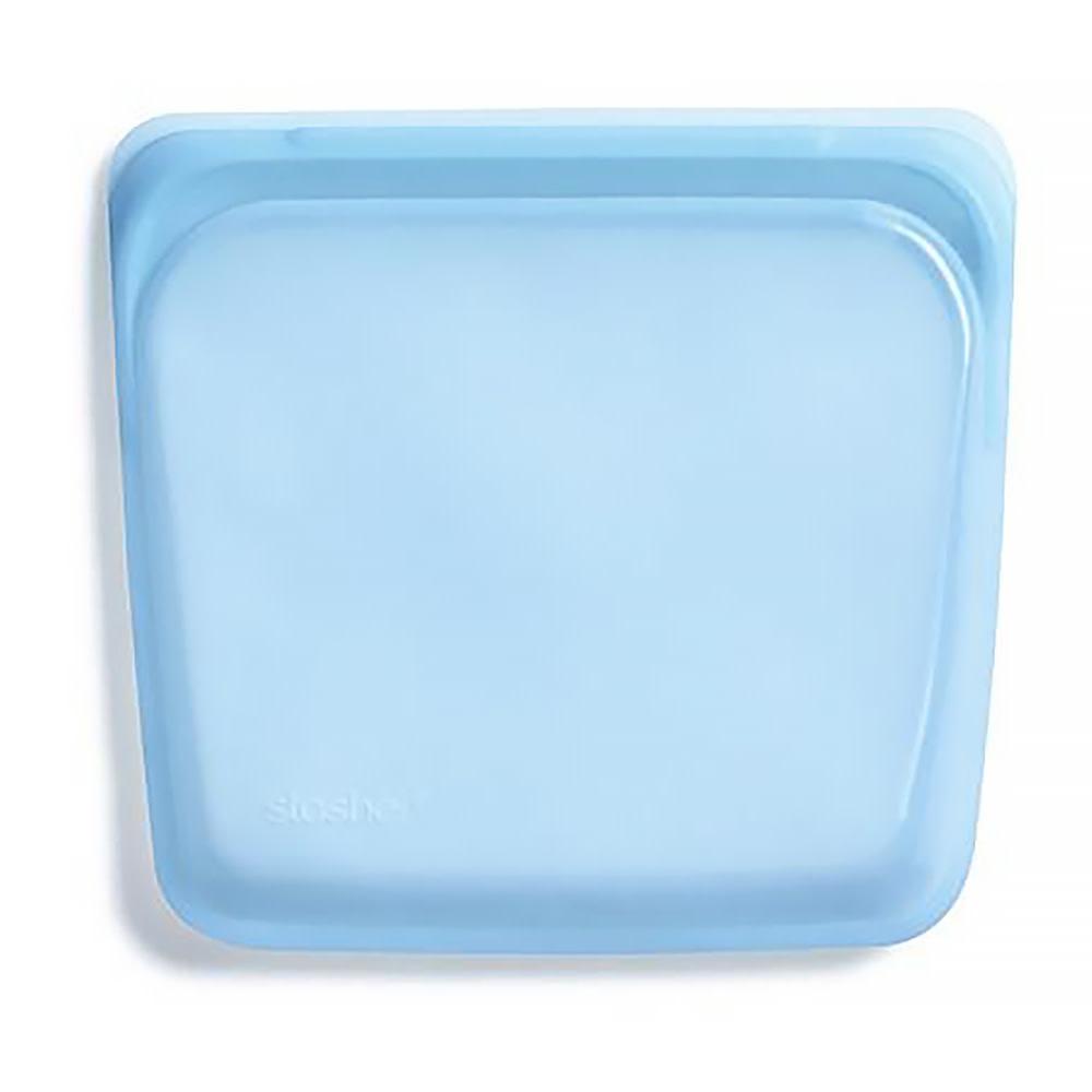 Stasher Bag - Sandwich - Rainbow Blue