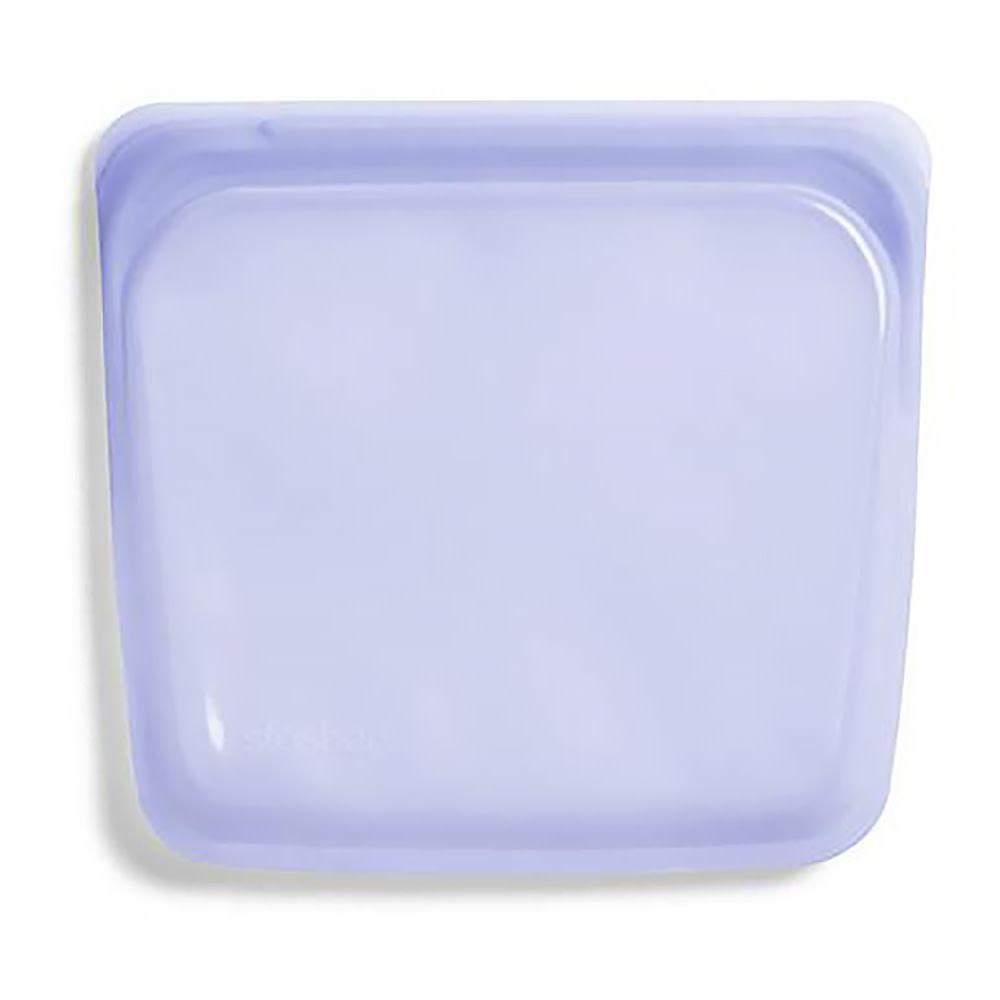 Stasher Bag - Sandwich - Rainbow Lavender