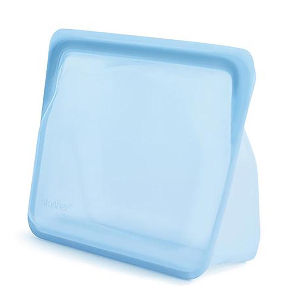 Stasher Bag - Stand Up - Rainbow Blue