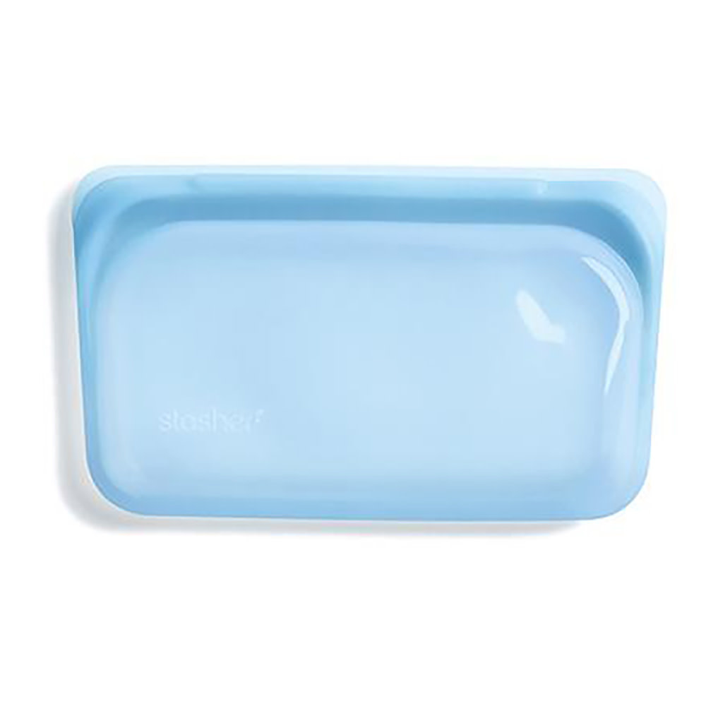 Stasher Bag - Snack - Rainbow Blue