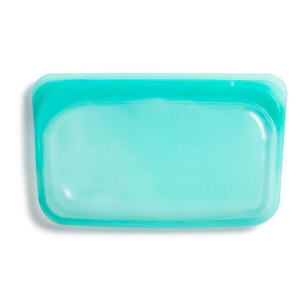 Stasher Bag - Snack - Aqua