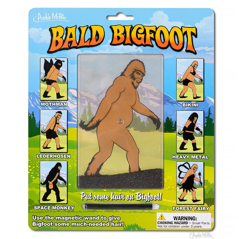 Bald Bigfoot