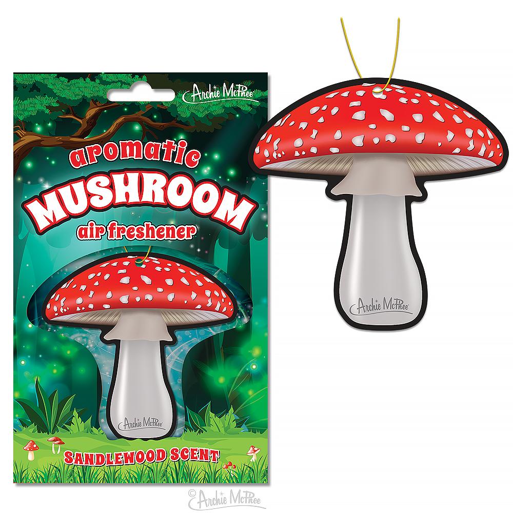 Archie McPhee Air Freshener - Mushroom