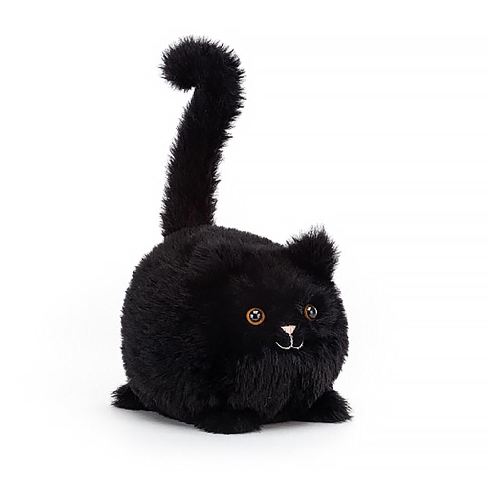 """Jellycat Kitten Caboodle - Black 5"""""""