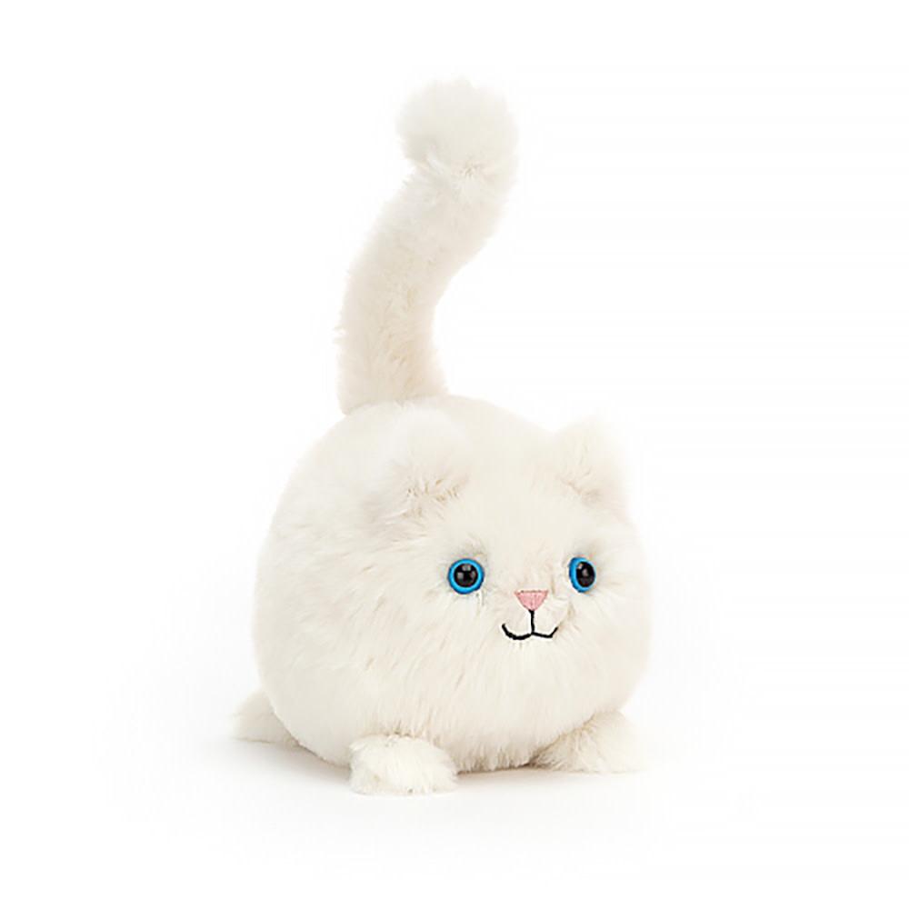 "Jellycat Kitten Caboodle - Cream 5"""