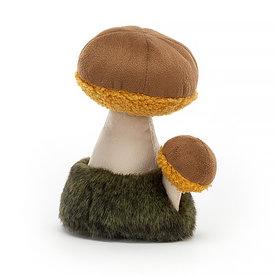 "Jellycat Jellycat Wild Nature Boletus Mushroom 6"""