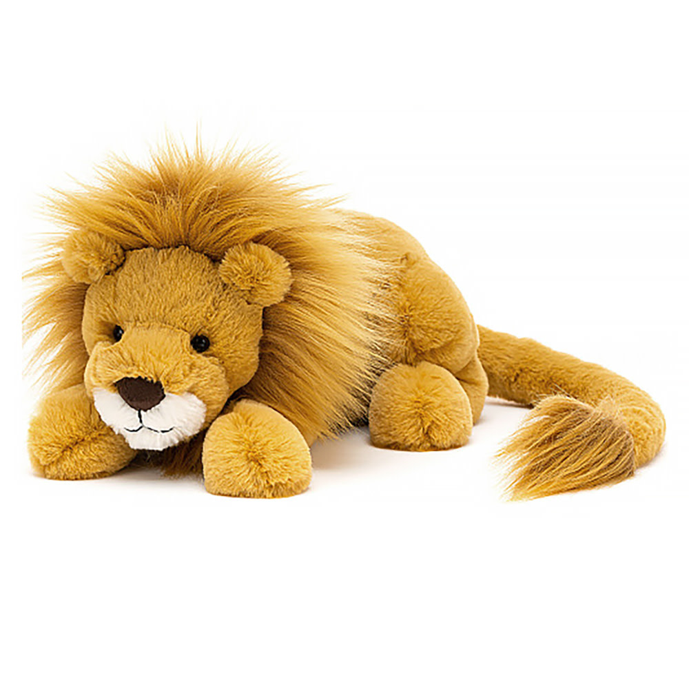 "Jellycat Louie Lion - Little 12"""