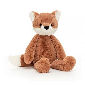 "Jellycat Jellycat Snugglet Beckett Fox - Small 11"""