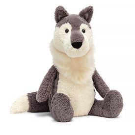 "Jellycat Jellycat Scillies Woodruff Wolf 13"""