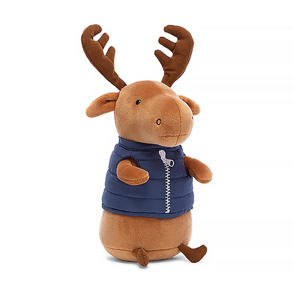 "Jellycat Campfire Critter Moose 7"""
