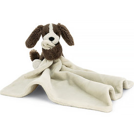 Jellycat Jellycat Bashful Fudge Puppy Soother
