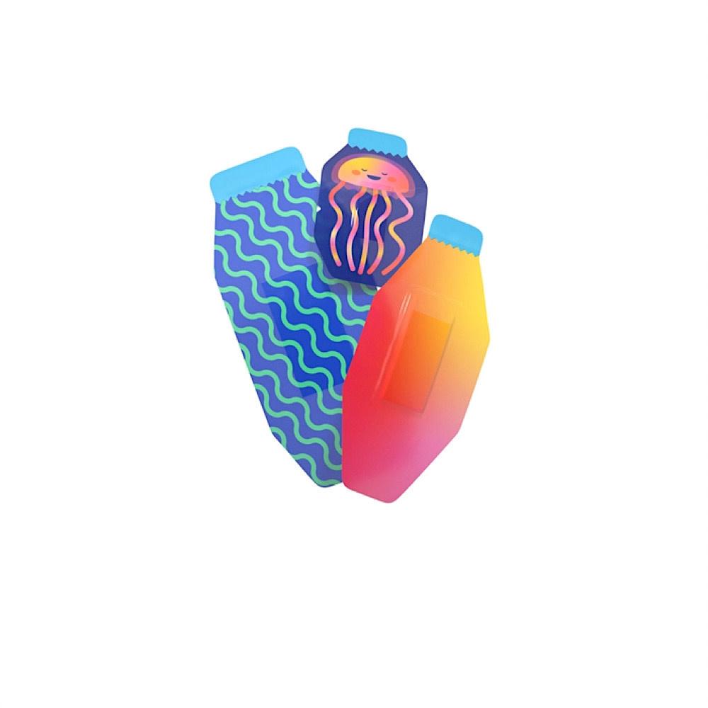 Welly Bravery Badges Waterproof - Jellyfish