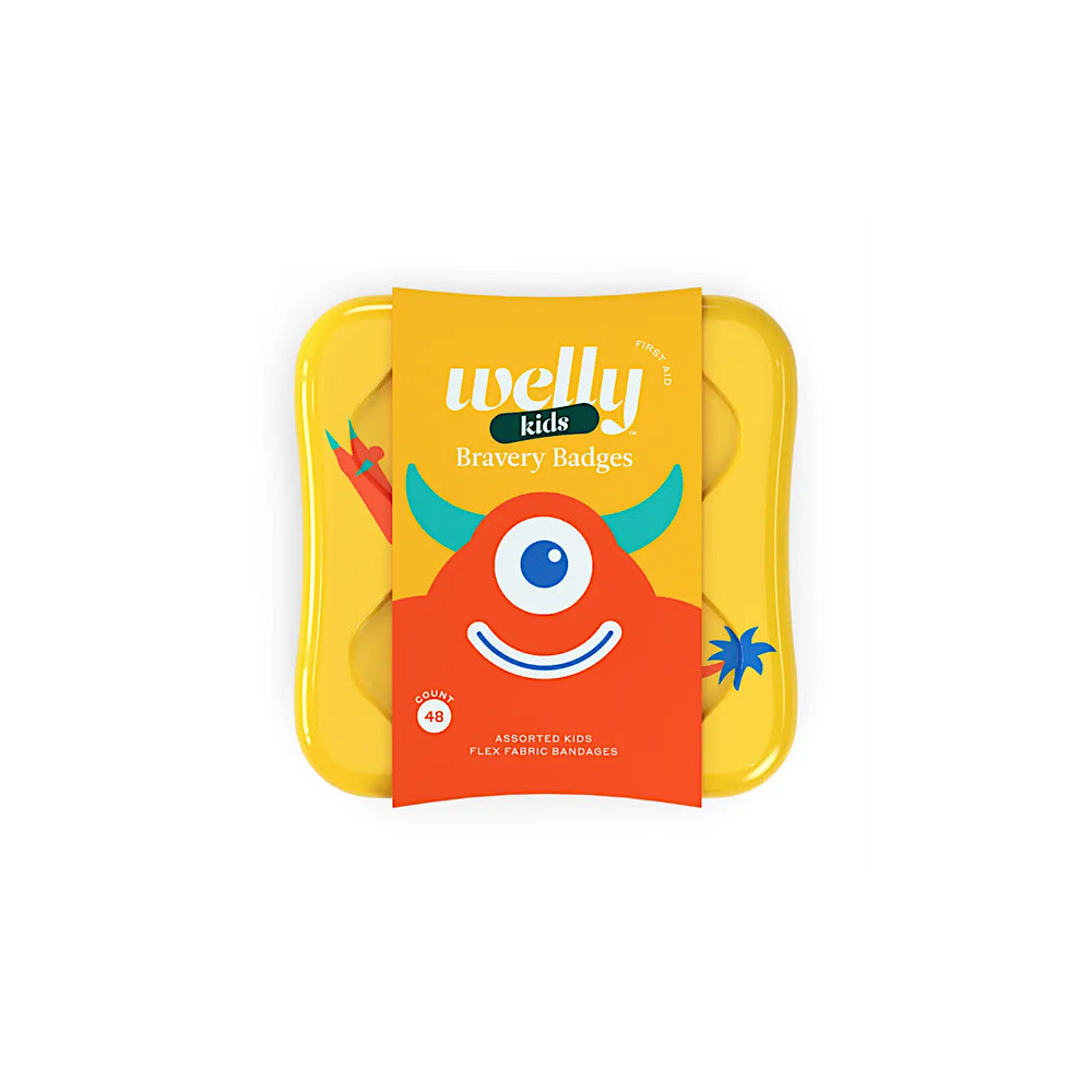 Welly Welly Bravery Badges - Monster