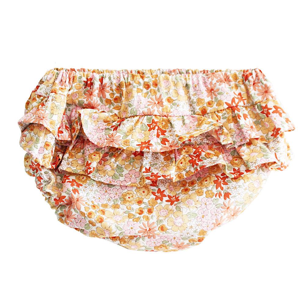 Alimrose Ruffle Bloomers - Sweet Marigold