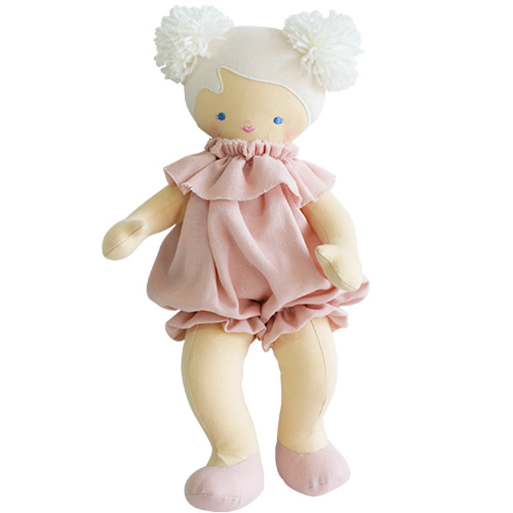 Alimrose Baby Lucy - Pink Linen