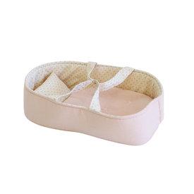 Alimrose Alimrose Playtime Doll Carrier Set - Pale Pink & Spot