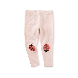 Tea Collection Tea Collection Ladybug Graphic Baby Leggings - Pink Salt
