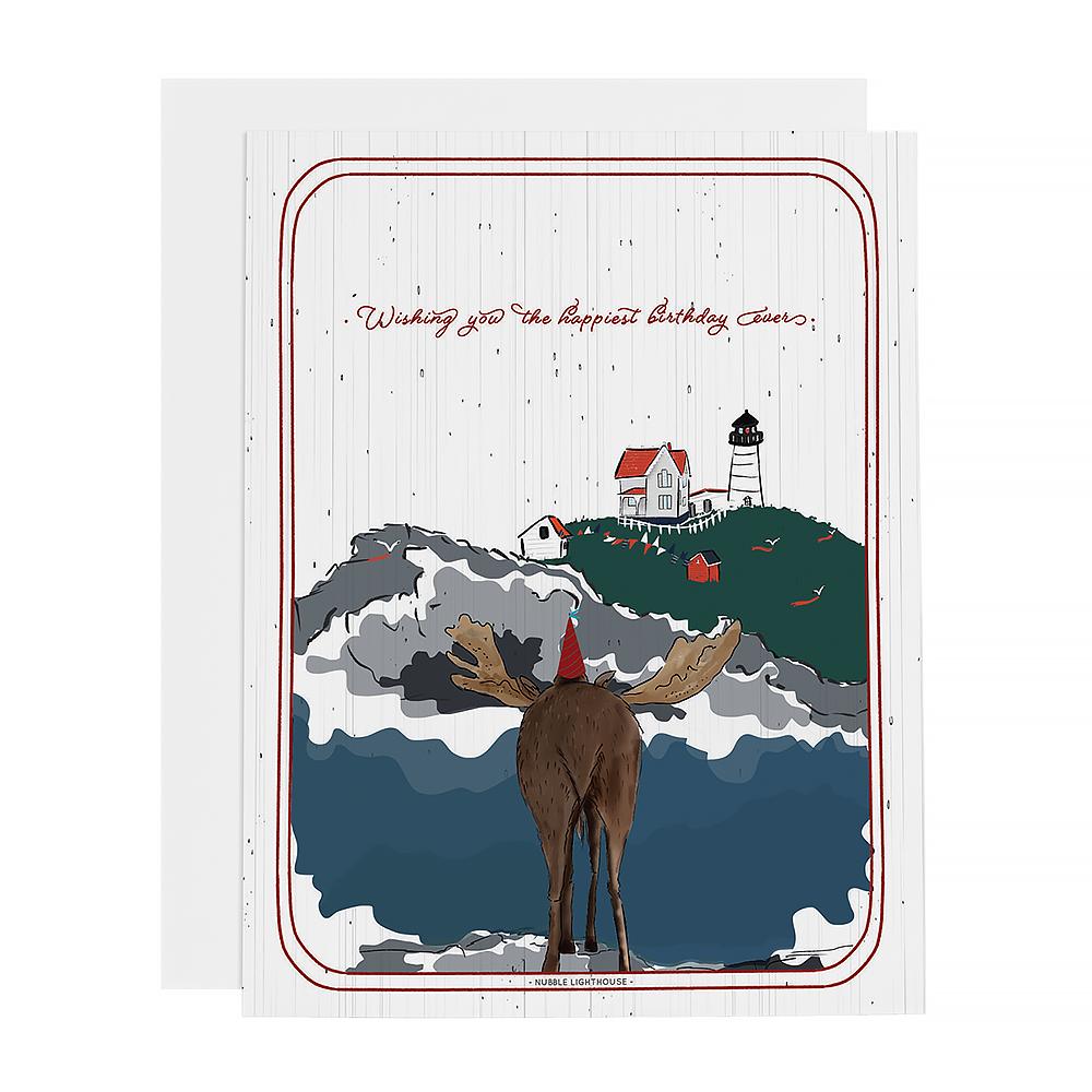Ramus & Co Card - Moose Birthday Wishes