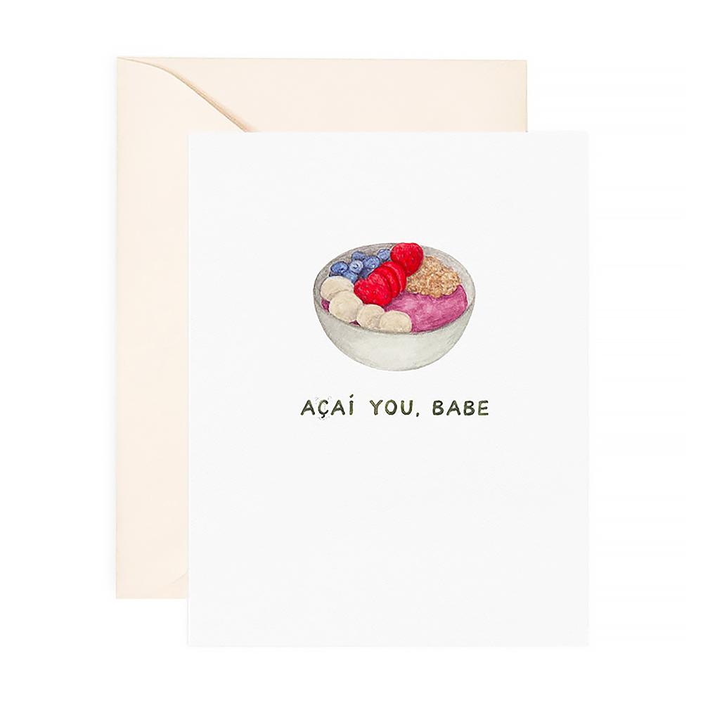 Amy Zhang Card - Acai You Babe