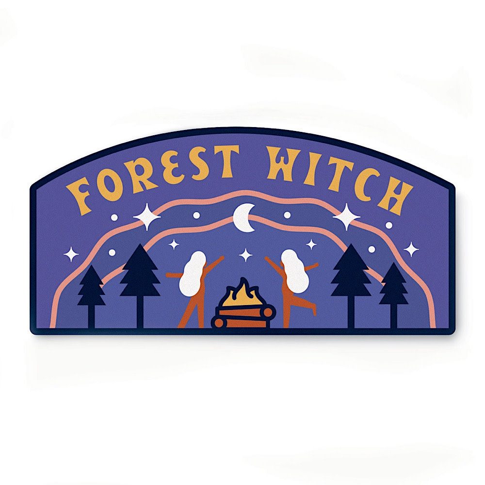 Ello There - Sticker - Forest Witch