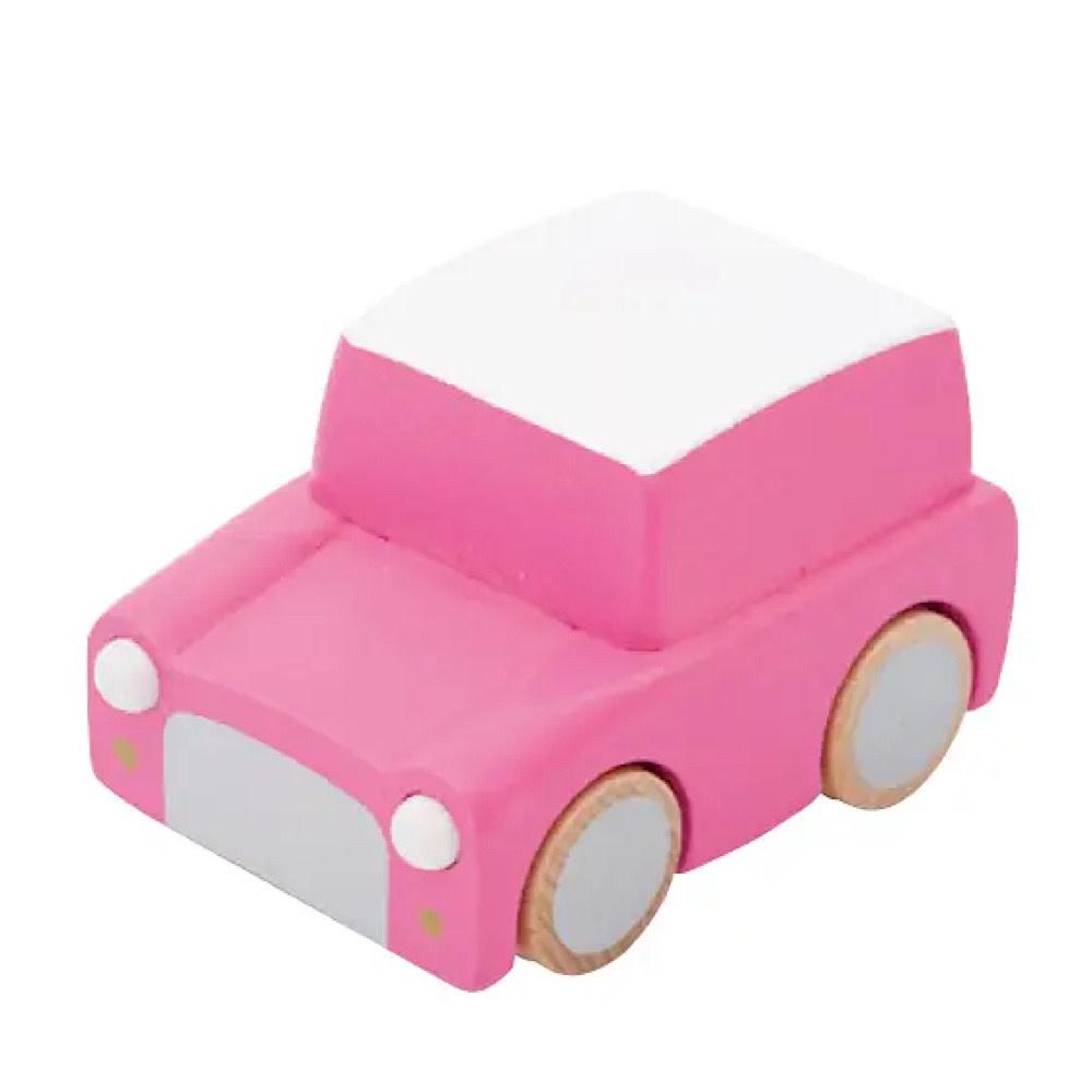 Kiko+ & gg* Kuruma Wind-up Car - Pink