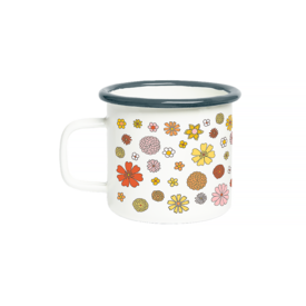 Talking Out of Turn Talking Out Of Turn Campfire Mug - Flower Power