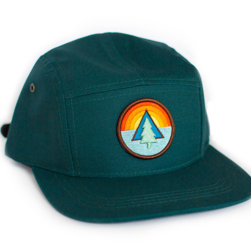 Ello There - Cap - Forest Green - Tree
