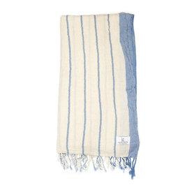 KT Woven KT Woven - Breeze Peshtemal - Light Blue