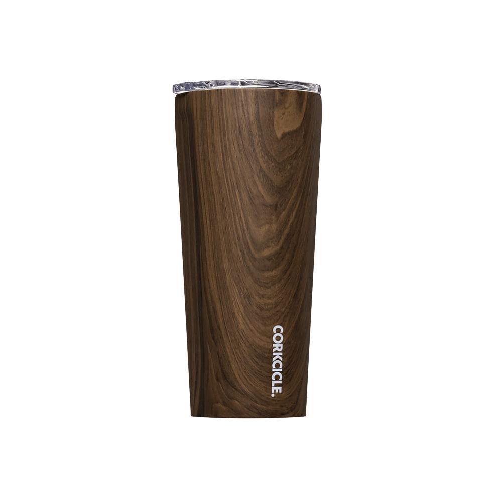 Corkcicle Tumbler 24oz - Walnut Wood