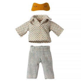 Maileg Maileg Mouse - Yellow Pyjamas for Dad Mouse