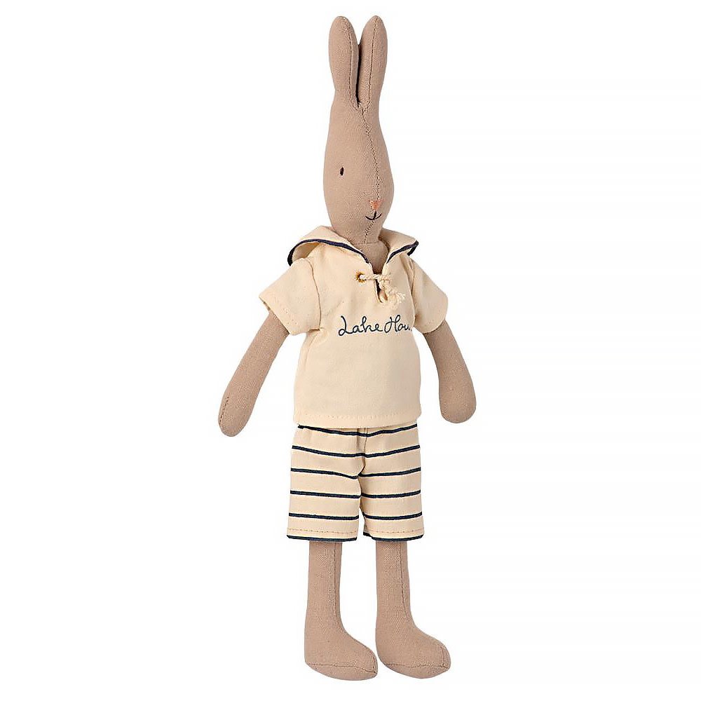 Maileg Rabbit - Petrol Sailor Boy - Small Size 2