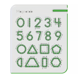 Kid O Products Magnatab - Numbers & Shapes