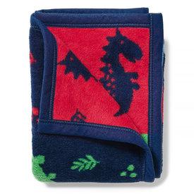 Chappywrap Chappywrap Mini Blanket - DinoMite
