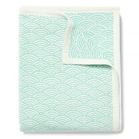Chappywrap Chappywrap Blanket - Brewster Scallops Turquoise
