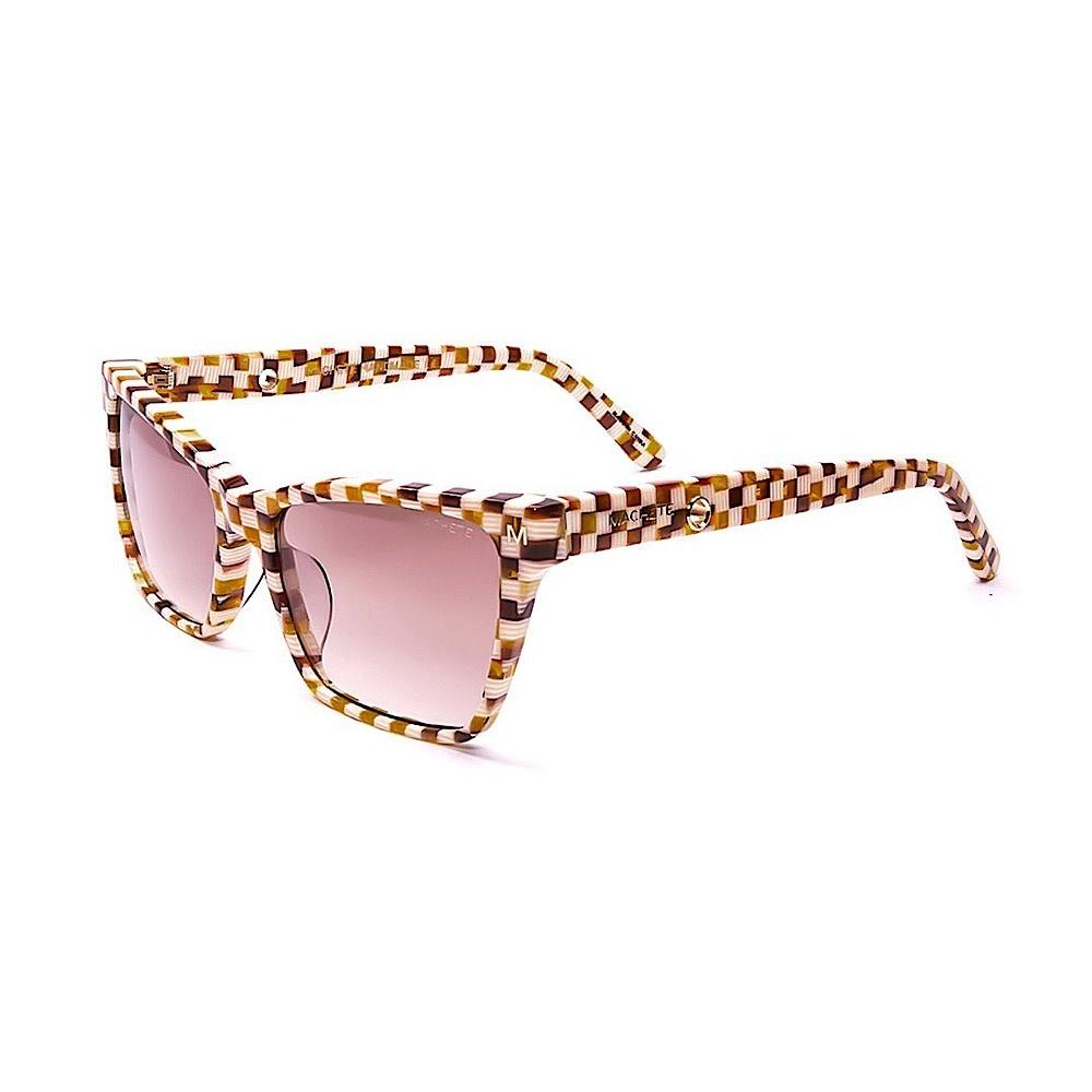 Machete Machete - Sally Sunglasses - Tortoise Checker