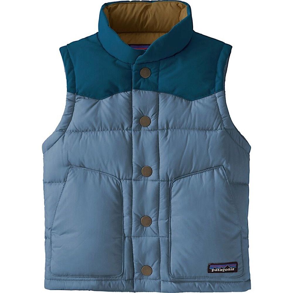Patagonia Baby Bivy Down Vest - Pigeon Blue