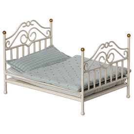 Maileg Maileg Micro Vintage Bed - Off White