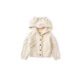 Tea Collection Tea Collection Animal Baby Cardigan - Pelican