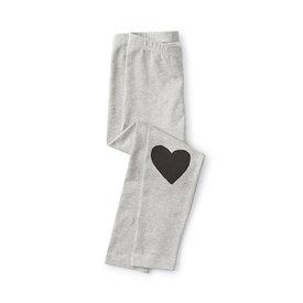 Tea Collection Tea Collection Heart Leggings - Med Heather
