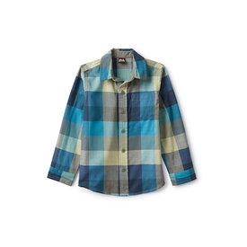 Tea Collection Tea Collection Plaid Button Up Shirt - Gothenburg