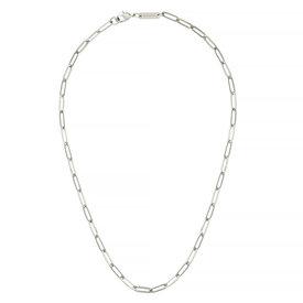 """Machete Machete - Petite Paperclip Chain Necklace - Silver 18"""""""
