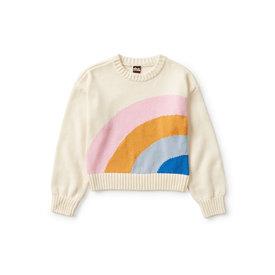 Tea Collection Tea Collection Rainbow Sweater - Pelican