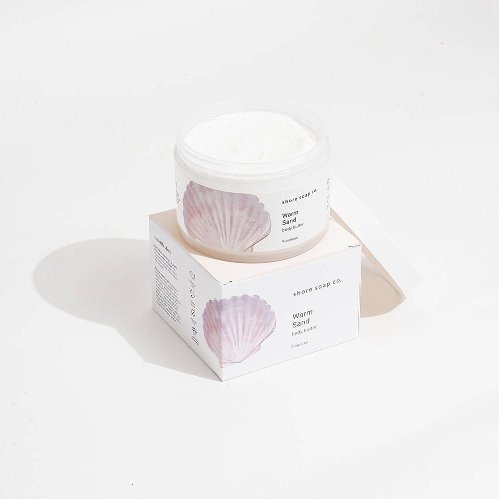 Shore Soap Company - Body Butter - Warm Sand