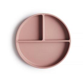 Mushie Mushie Silicone Suction Plate - Blush