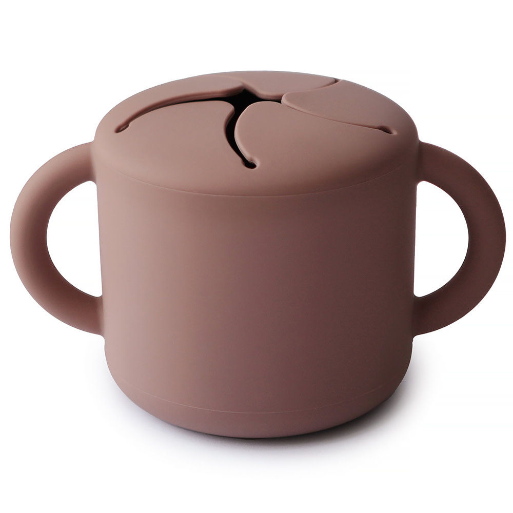 Mushie Mushie Snack Cup - Cloudy Mauve