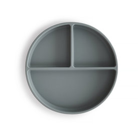 Mushie Mushie Silicone Suction Plate - Stone