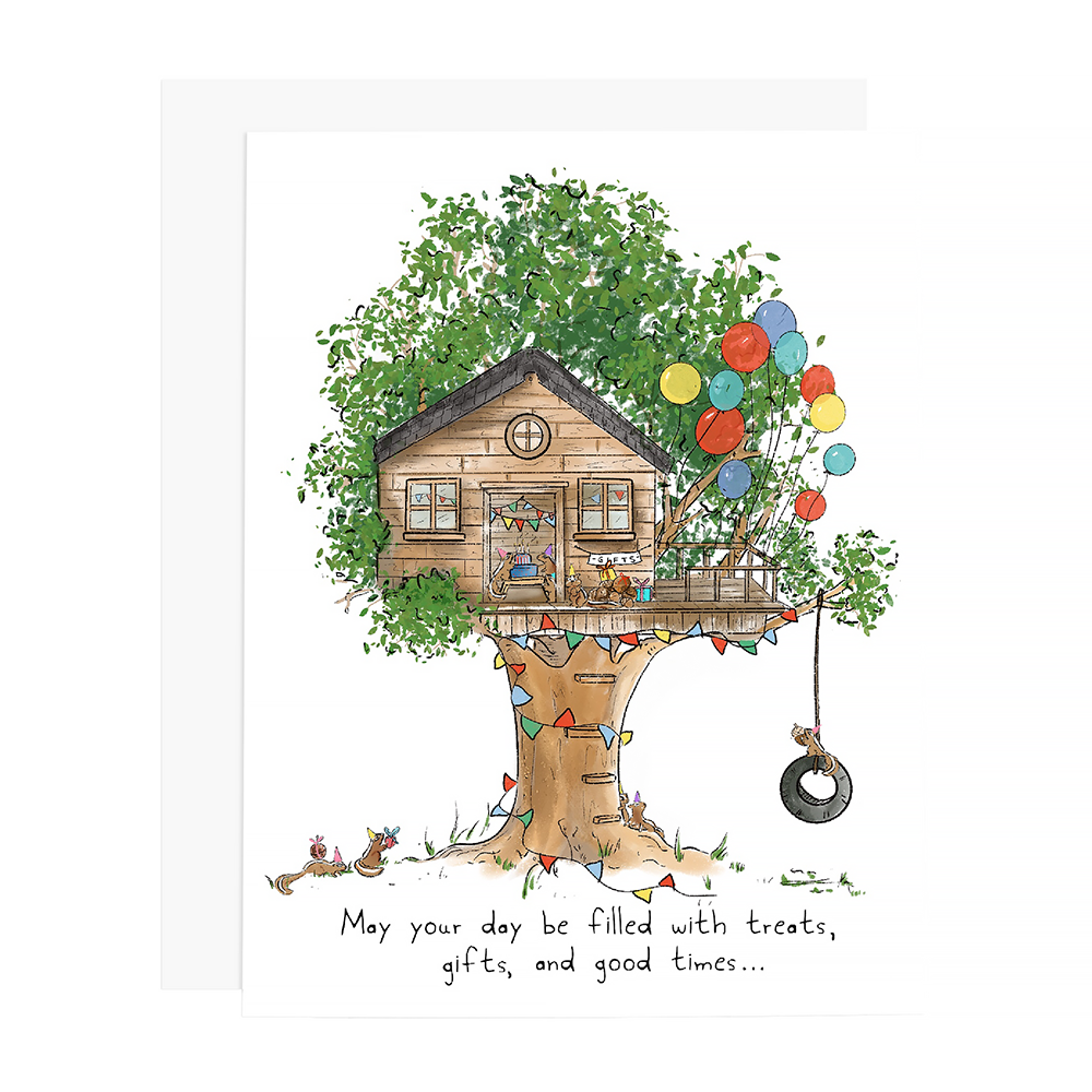 Ramus & Co Card - Treehouse Party