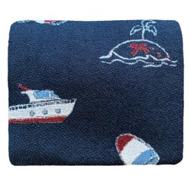 Ramus & Co Ramus & Co Yacht Club Prep Throw Blanket