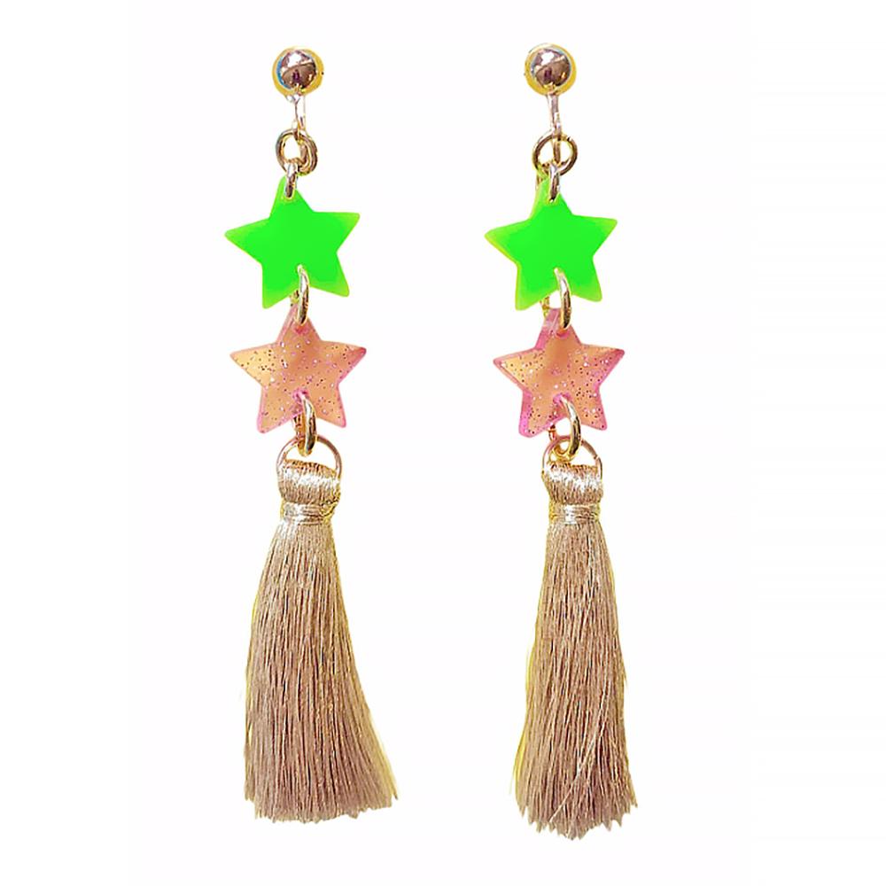 Gunner & Lux Gunner & Lux Clip On Earrings - Starlight